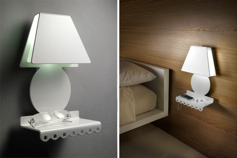 LAMPADA DA PARETE SOGNI BELLI (ZEROOMBRA)-Design Gumdesign Image