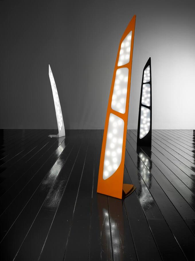 LAMPADA DA TERRA MANTAREI (ZEROOMBRA)-Design Alessandro Masturzo Image