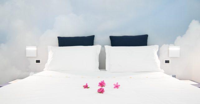 carta da parati cielo wallpaper in mezzo alle nuvole camera da letto
