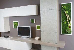 giardino verticale stabilizzato esempi quadri verdi